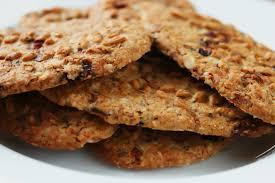 Receta de cookies de muesli