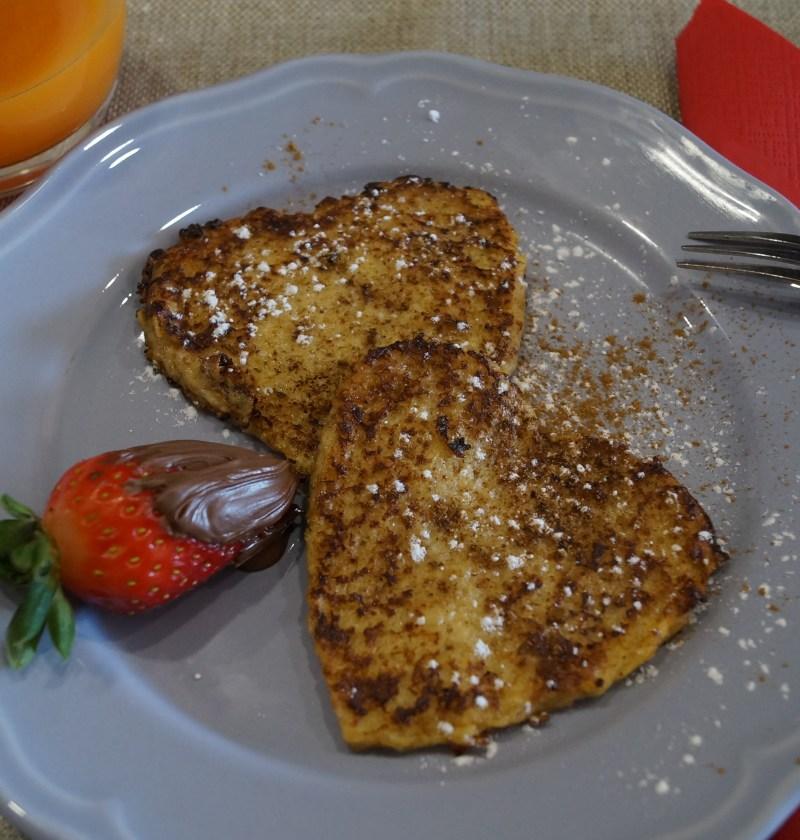Receta de tostadas francesas