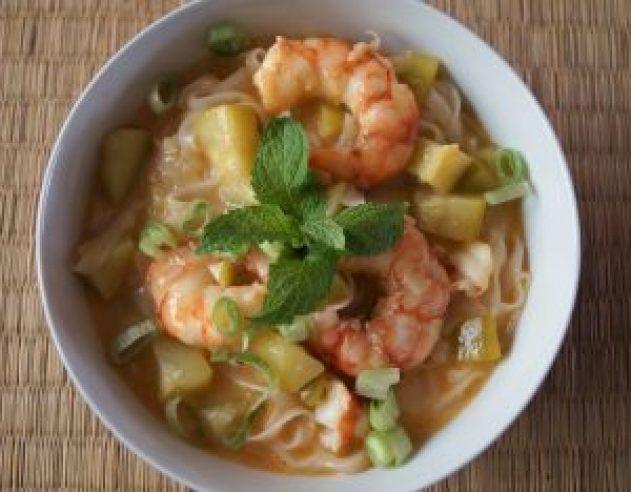 Curry Langostinos