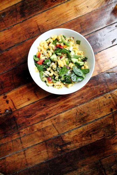 Healthy Pantry Pasta Salad
