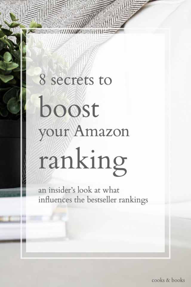 how to boost amazon ranking