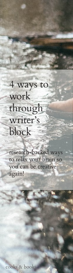 How to get past writer's block