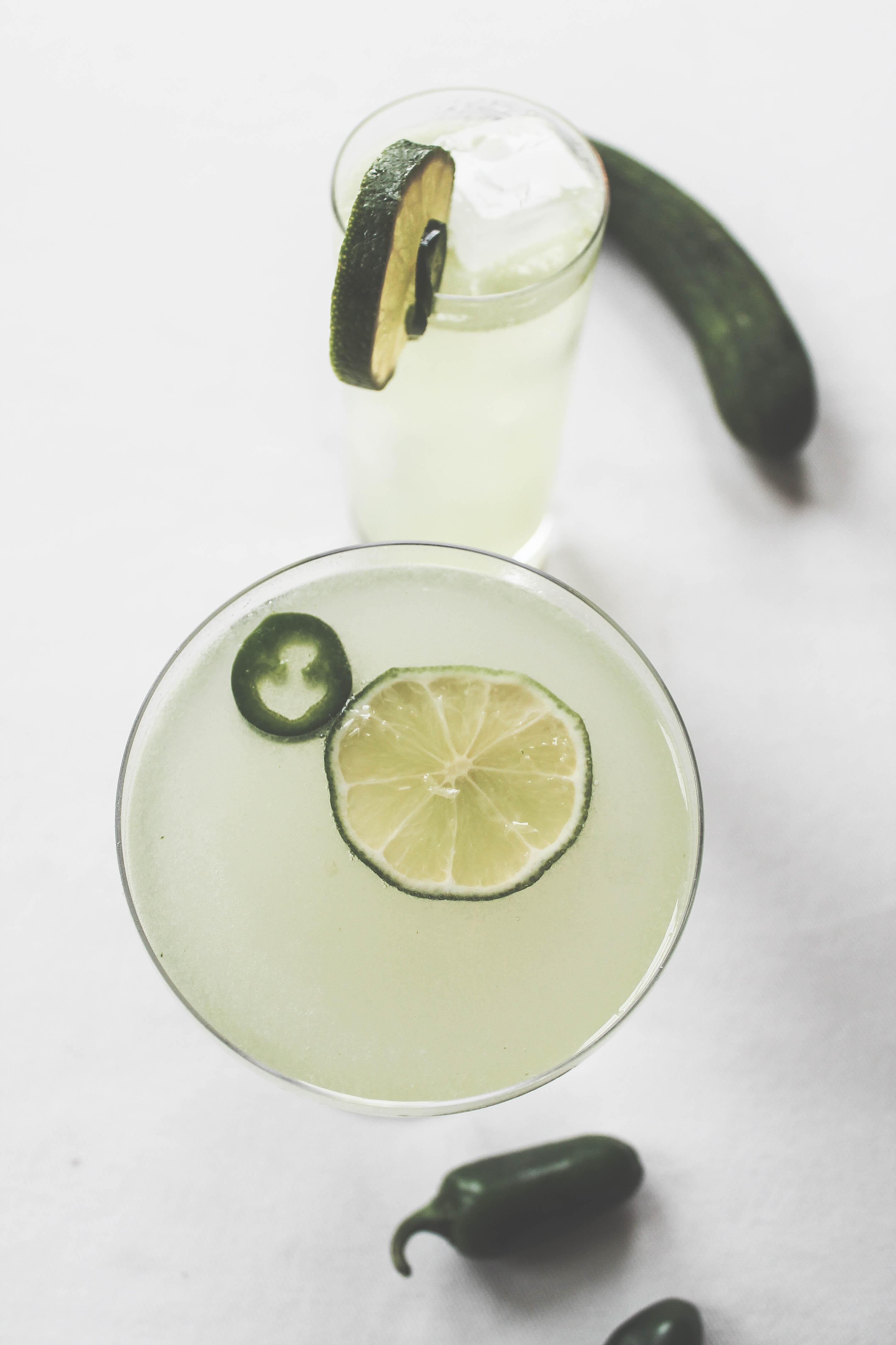 cucumber jalapeno gimlet recipe