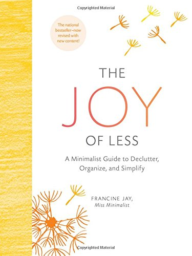 the joy of less by francine jay book cover
