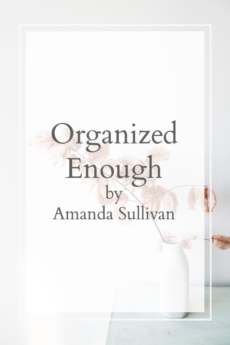 Organized Enough amanda sullivan book deal the perfect daughter
