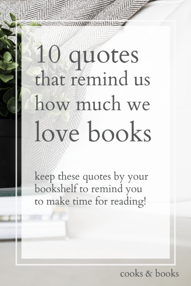 best quotes by writers about books