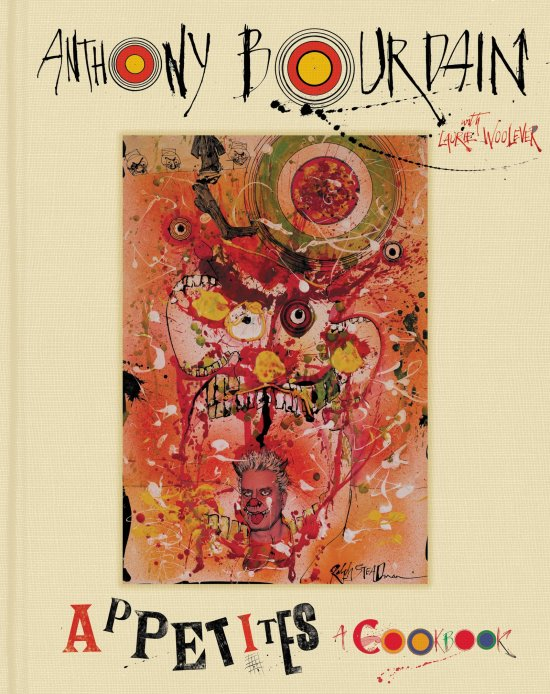 anthony bourdain appetites cookbook book cover