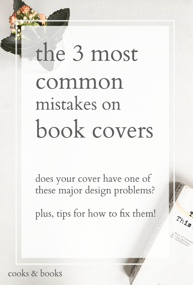 common mistakes on book covers