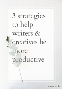how to be more productive writer