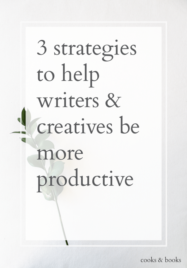 writer productivity tips literary agent