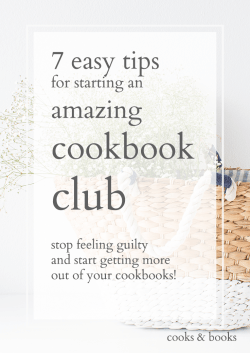 how to start a cookbook club easy