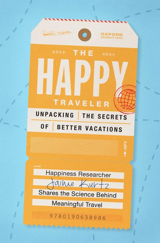 the happy traveler jaime kurtz book cover