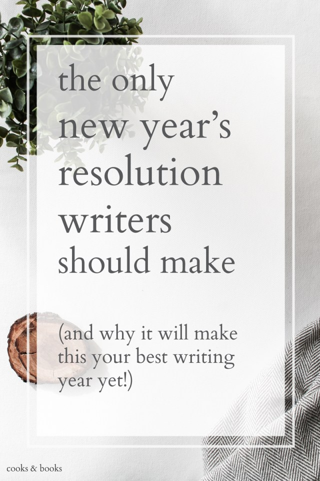 new years resolution for writers to get published