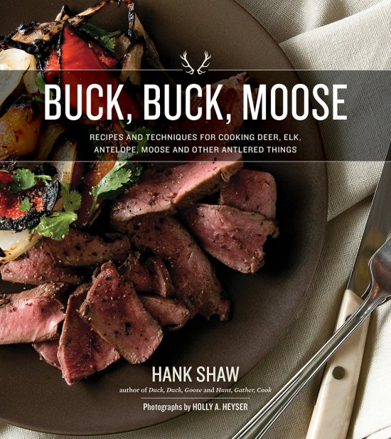 buck buck moose hank shaw book cover
