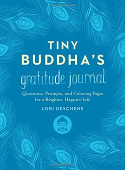 tiny buddha's gratitude journal book cover