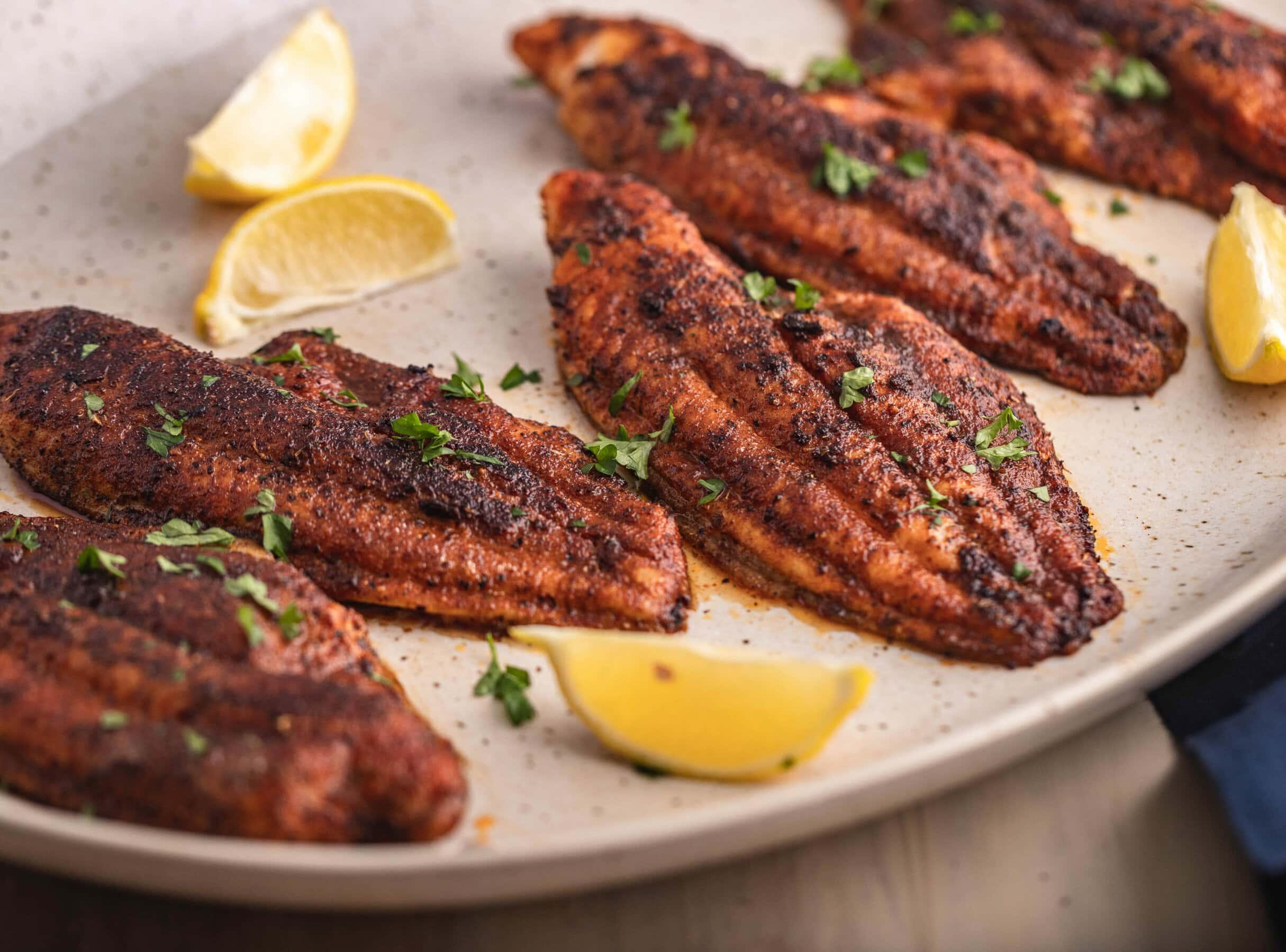 Soul Food #2 The BEST Blackened Catfish Recipe | Healthy Soul Food Recipe |
