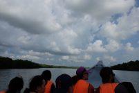 Bako crossing river
