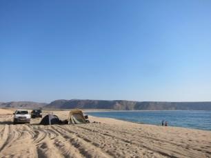 camping beach angola