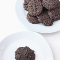 Ancient Grains Cookies (Biscoitos de Trigo Sarraceno e chocolate)