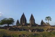 Prambanan view