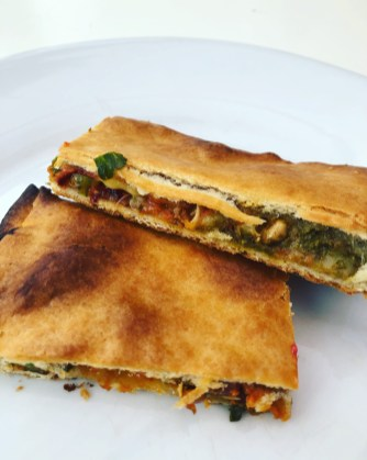 Savory Vegan Pie slice