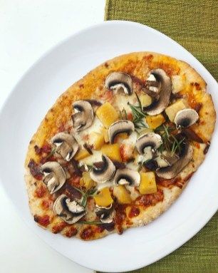 Vegan Roasted butternut squash Pizza