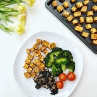 Crispy Baked Tofu (tofu assado)