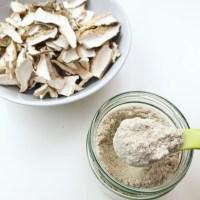 Mushroom Powder Recipe (cogumelos em pó)