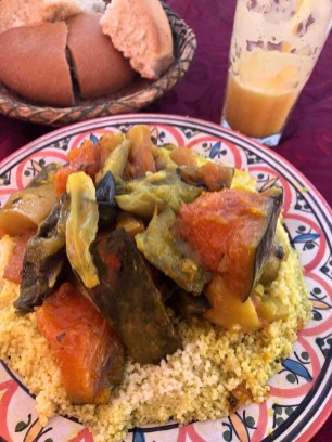 Couscous with veggies