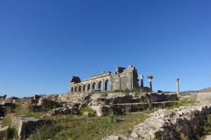 Volubilis ruins travel