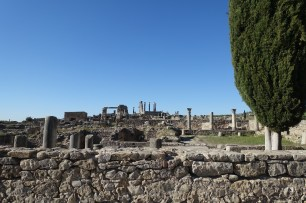 roman ruins Volubilis
