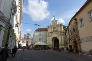 church of the holy trinity vilnius