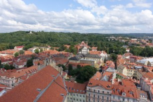 views over vilnius