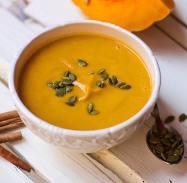 Pumpkin soup vegan yerevan