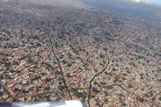 Angola luanda from air
