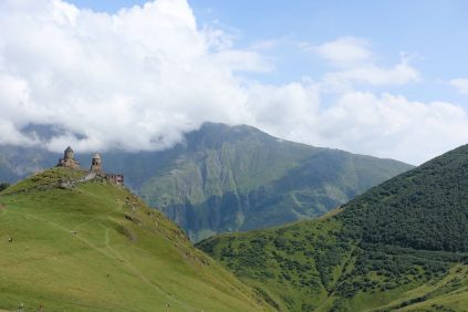 Kazbegi Gergeti Church