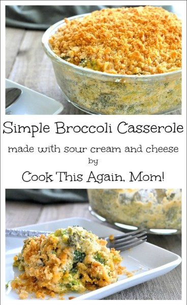 Simple Broccoli Casserole