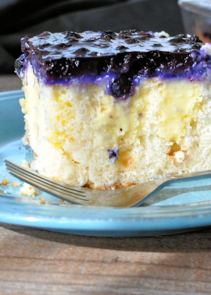 Blueberry Poke Cake
