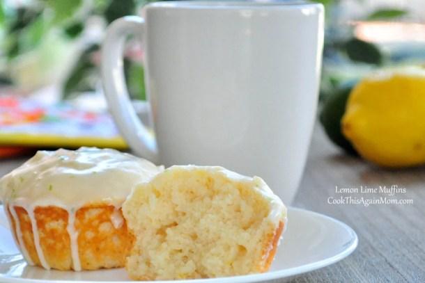 Lemon Lime Muffins