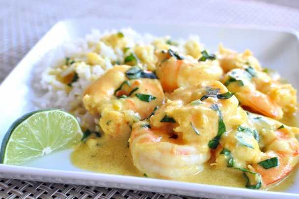 Simple Shrimp Curry