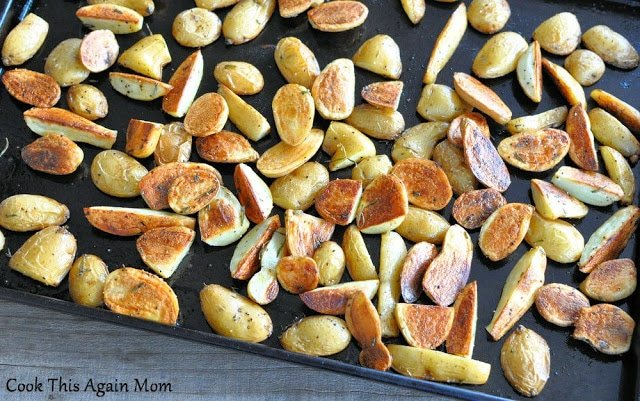 Rosemary Roasted Potatoes.