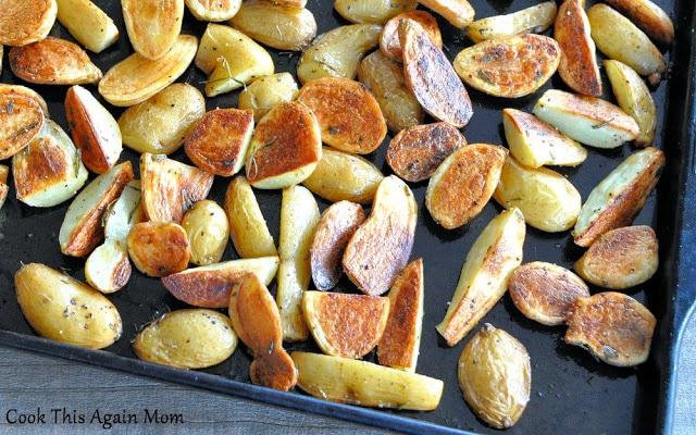 Rosemary Roasted Potatoes.