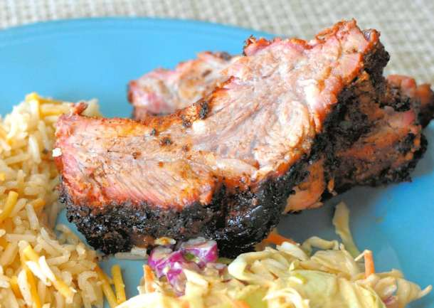 Simply Delicious BBQ Ribs k