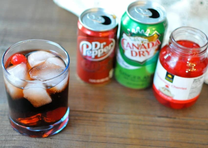 Dr. Pepper Surprise