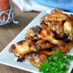 Baked Orange Ginger Chicken Wings