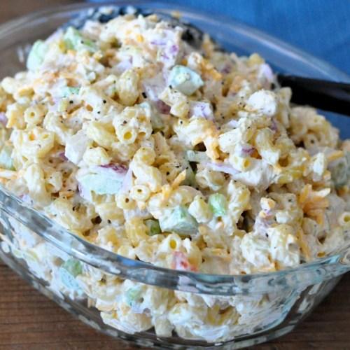 Rotisserie Chicken Macaroni Salad Also Works Great With Tuna