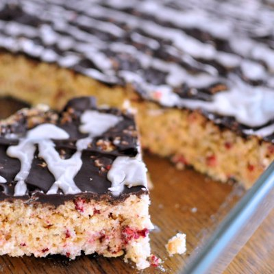 Chocolate Raspberry Rice Krispies Cookies
