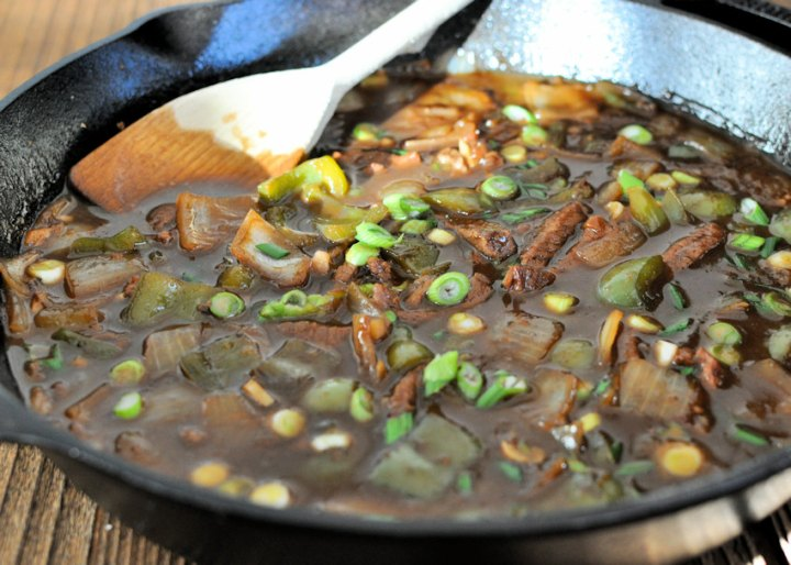 Simple Mongolian Beef