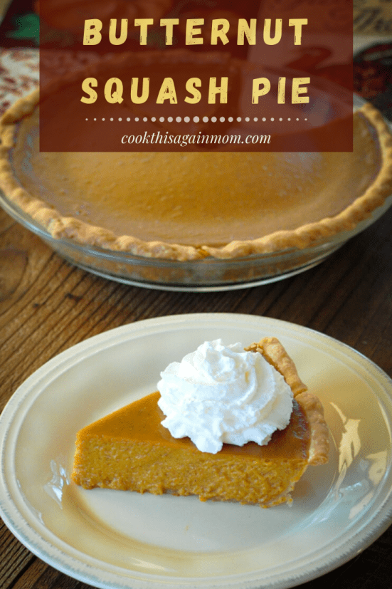 butternut squash pie for cook this again mom pinterest