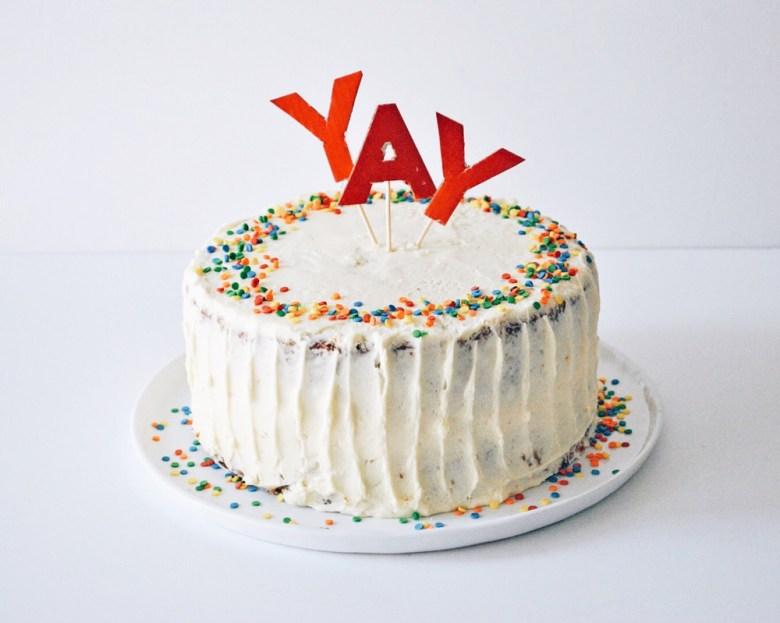 carrot cake yay